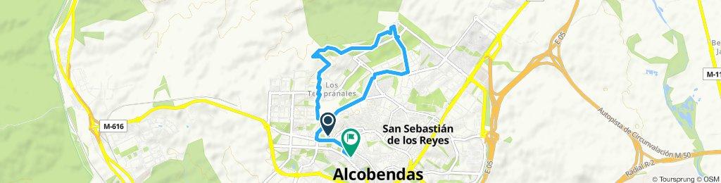 Paseo rápido en Alcobendas