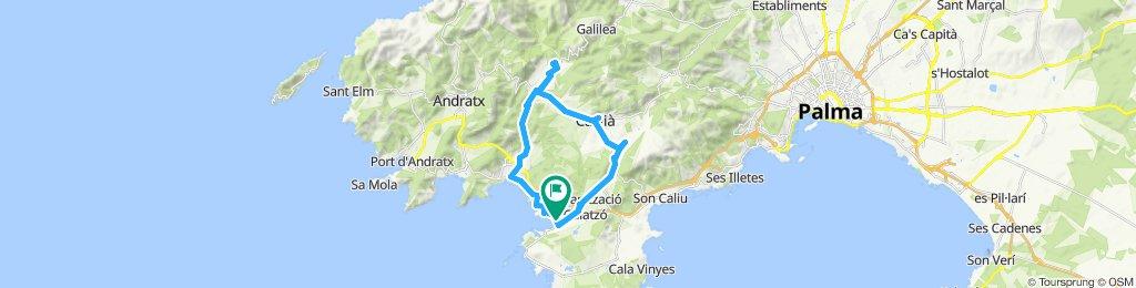 Santa Ponca - Ründchen Urbanisation Galatzo - Calvia - Es Capdella - Peguera - Costa de la Calma - Rotes Velles ab H10 Casa del Mar 2019