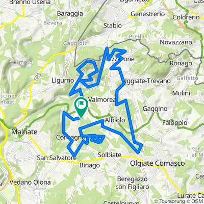 Da Via San Giorgio 27, Cagno a Via San Giorgio 13, Cagno