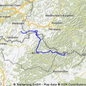 Col de Wengelsbach und zurück