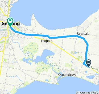 Heggies to Geelong via Rail Tail