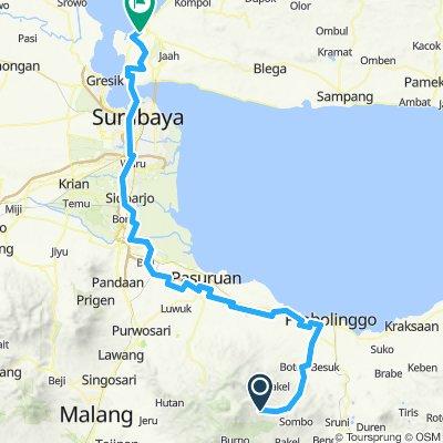 Bromo to Bangkalan