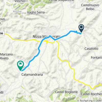 Relaxed route in Case Vecchiec