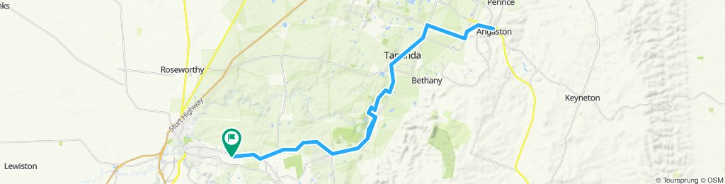 Kalbeeba to Angaston return, via the Barossa Valley Trail