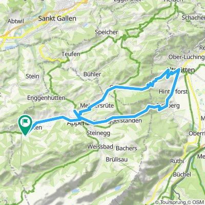 Appenzell - Altstätten - Eichberg