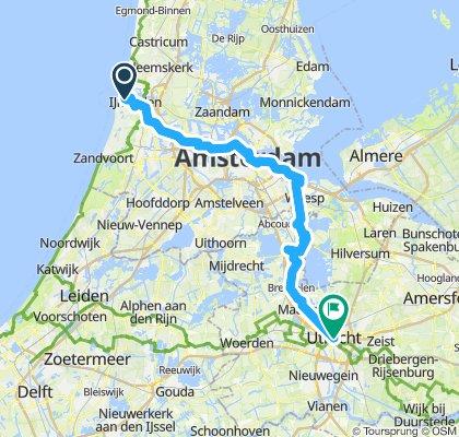Ijmuiden - Amsterdam - Utrecht