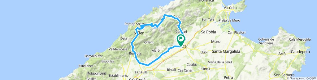COLL DE SA BATALLA-TUNEL MONNABER-SOLLER
