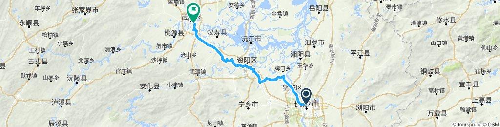15 Nov - ChangSha, 16 Nov - YiYang, 17 Nov - ChangDe