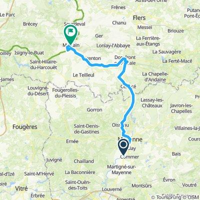 Mayenne - Mortain
