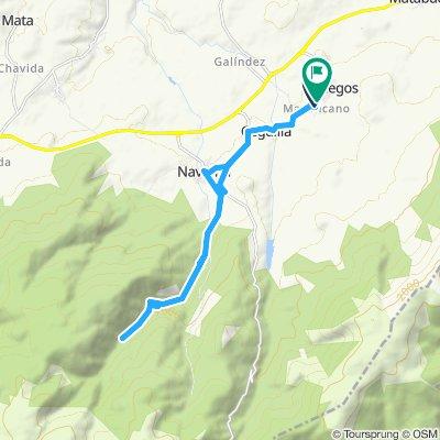 Martincano - El Chorro - Refugio el Peñón - Refugio la Fragua