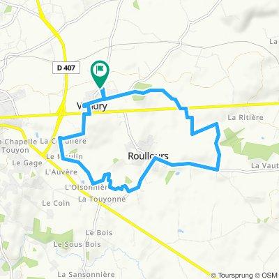 Circuit chemin 10kms