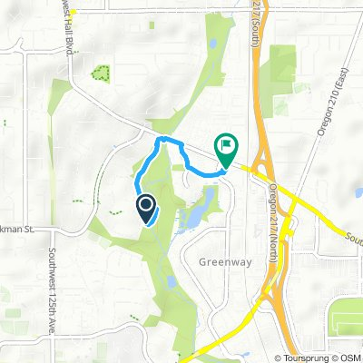 Moderate route in Beaverton