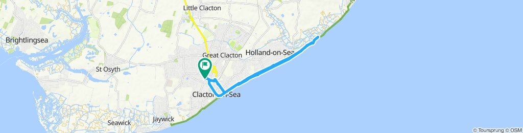 Steady ride in Clacton-on-Sea
