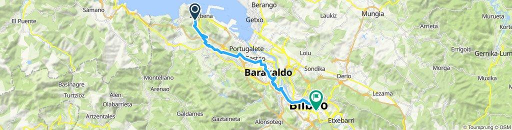Port to Bilbao