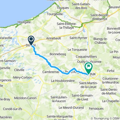 Easy ride in Lisieux