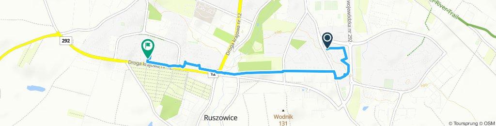 Umiarkowana trasa w Głogów