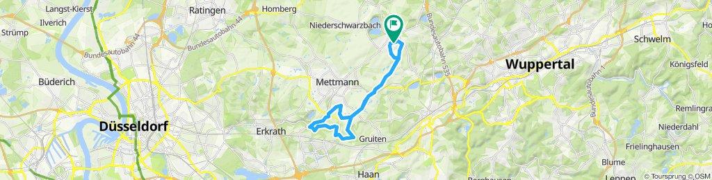 Mörderische Fahrt in Wülfrath / Neandertal