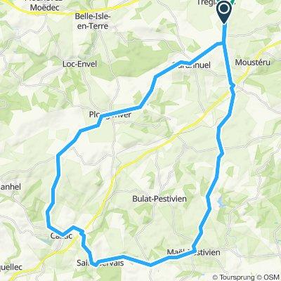 Mael Callac Plougonver 56km