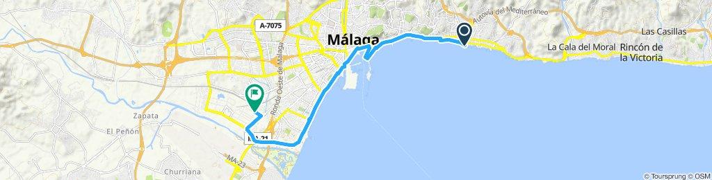 Ruta supersónica en Málaga