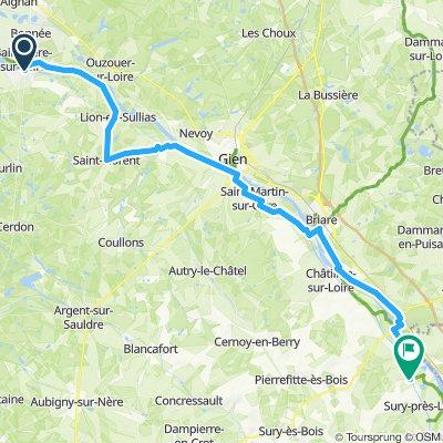 Sully:Loire - Belleville/Loire