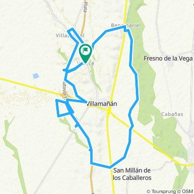Ruta constante en Villamañán