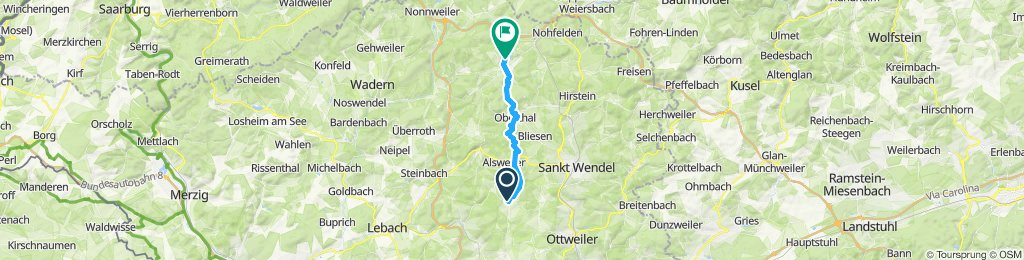Entspannende Route in Nohfelden