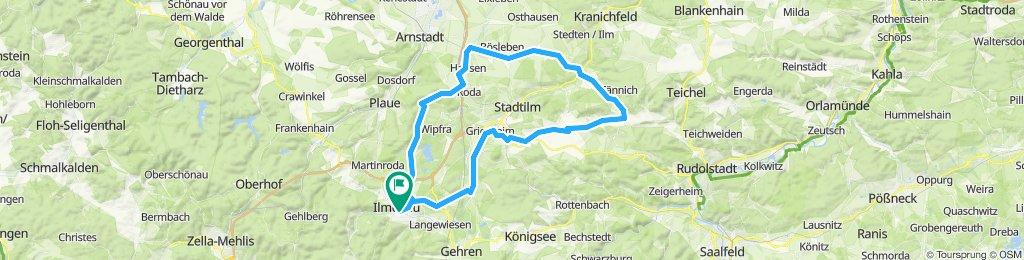 2019-10-12: Rennrad-Tour