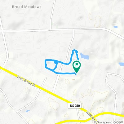 Moderate route in Henrico