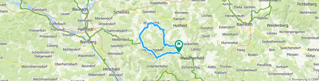 Breitenlesau - Huppendorf Runde