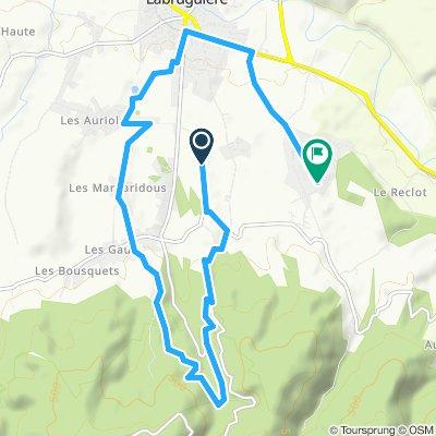 Itinéraire reposant en Labruguière