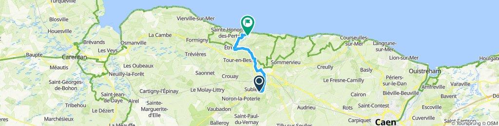 Facile à conduire Port-en-Bessin-Huppain
