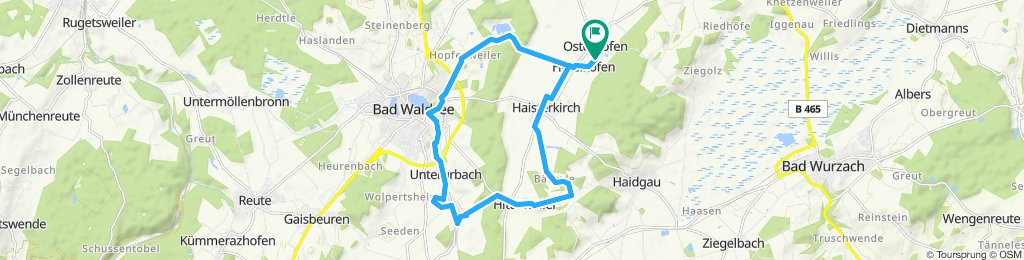 Moderate Route in Bad Waldsee 1