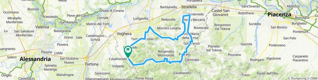 Oltrepo' Pavese - giro 100 km