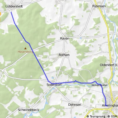 Amelinghausen Garstedt zurück CLONED FROM ROUTE 69038