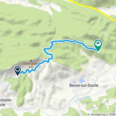 Itinéraire modéré en Sainte-Anastasie-sur-Issole