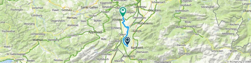 Marbach zu Baggersee Nägele