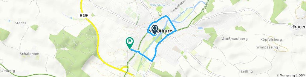 Moderate Route in Vilsbiburg