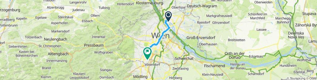 Stellplatz Womo - Alte Donau