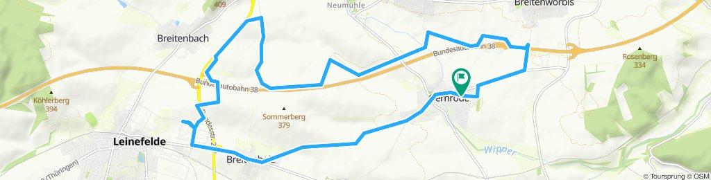 Überschallgeschwindigkeitsfahrt in Gernrode