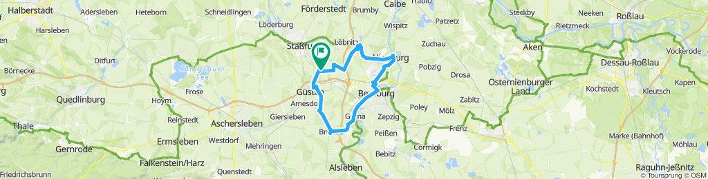 Gemütliche Route in Staßfurt Bernburg