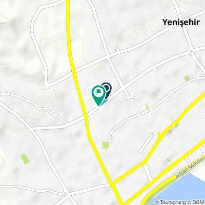 Moderate route in Yenişehir