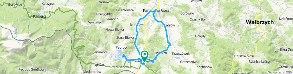 Weekend w Lubawce z Olą, Kasią i ... Łośkiewiczem