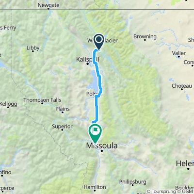 Glacier to Missoula