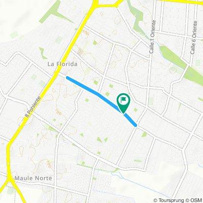 Etapa 1 - Vuelta Ciclista Maule Centro 2020