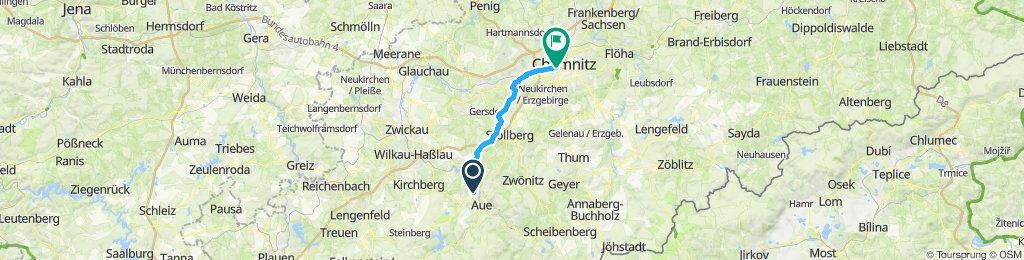 Schnelle Tour in Chemnitz