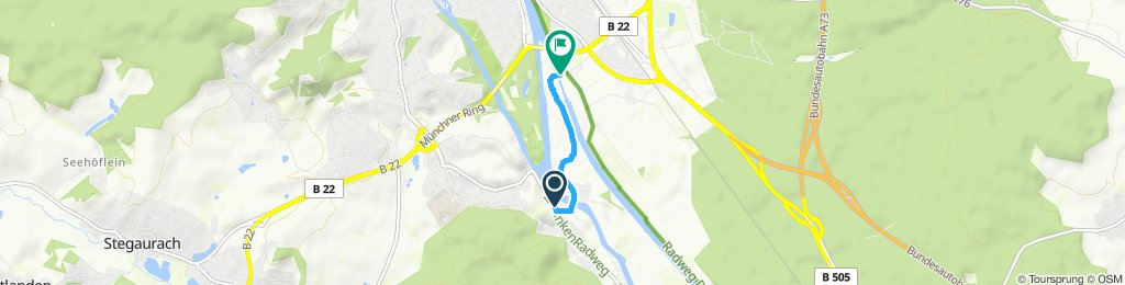 Moderate Route in Bamberg
