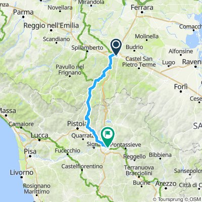 Bologna to Florence