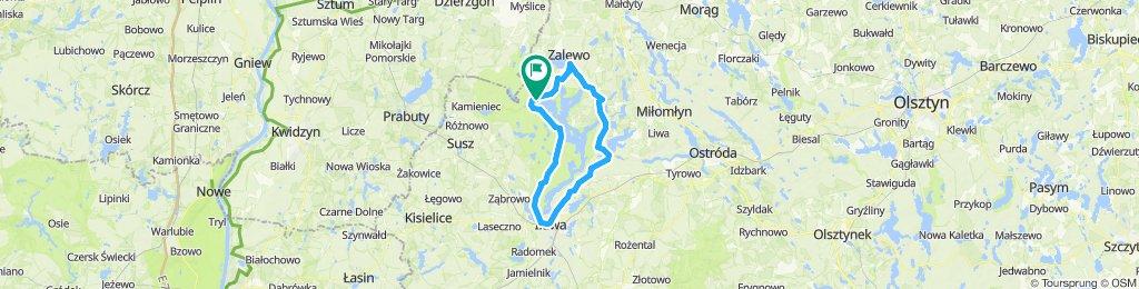 Around the lake Jerzwałd