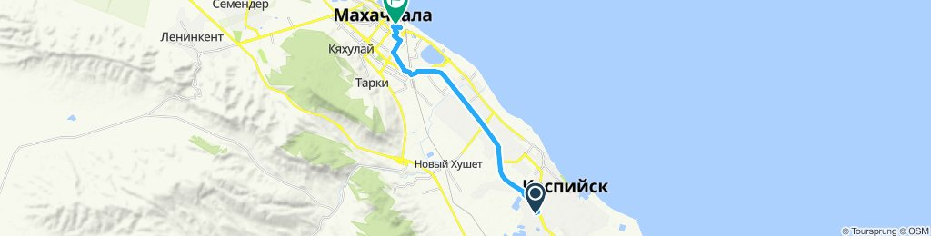Каспийск махачкала