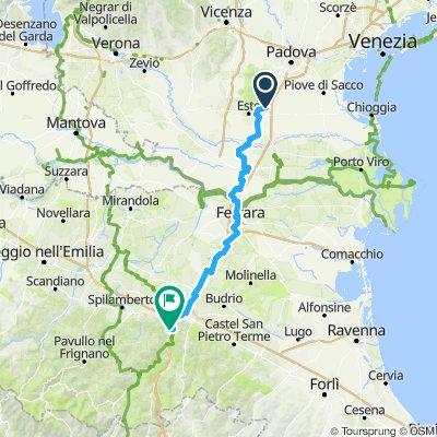 GIORNO 2: Monselice - Borgonuovo